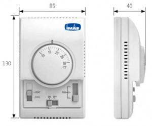 fancoil termostat